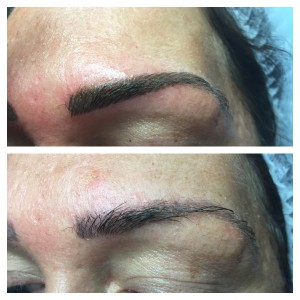 semi-permanent brows at ND Beauty Skin Clinic