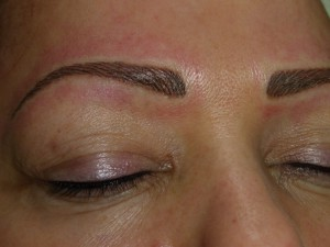 semi-permanent brows, Julia