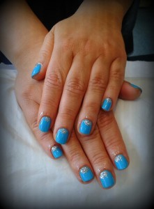 Shellac nails at ND Beauty skin clinic