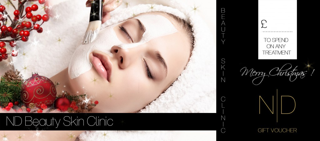 voucher at ND beauty Skin Clinic for beauty treatments